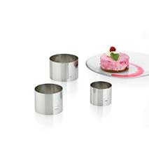Dessertringe Decore 3tlg.