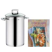 Spargeltopf + Kochbuch