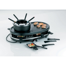 Raclette, Grill und Fondue-Set Bernardino