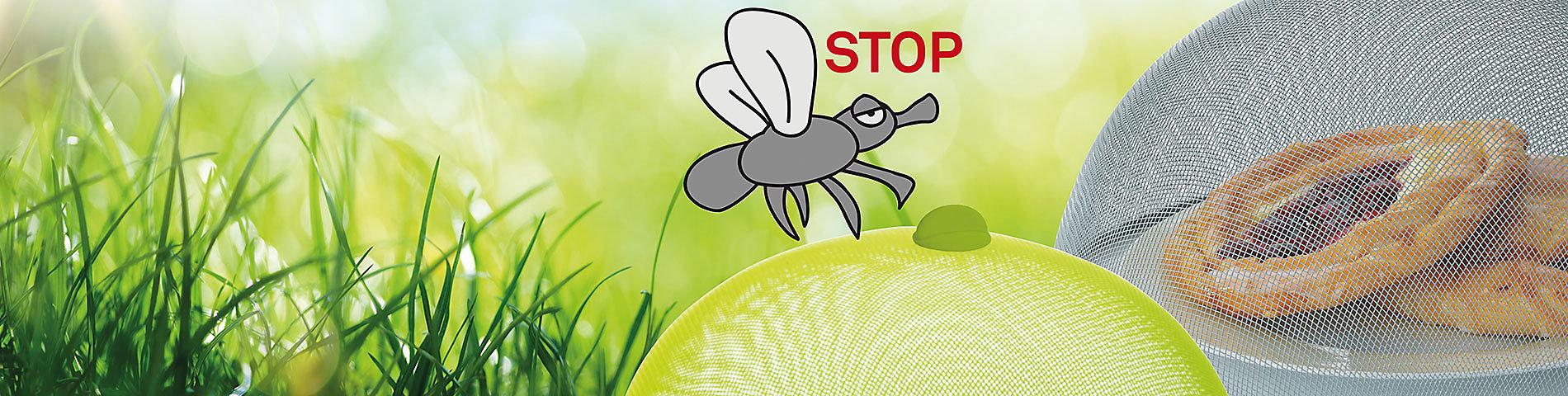 Aktion Insektenschutz Wespenschutz Abdeckhaube für Obst und Speisen