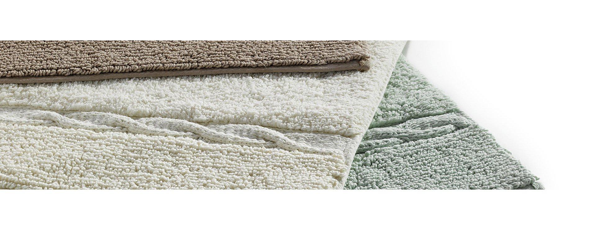 Badematten Landora in verschiedenen Ausführungen aus 100% Baumwolle