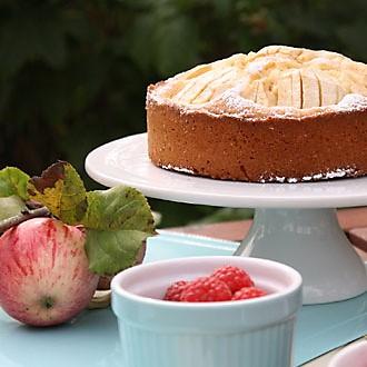 Genussküche - Apfelkuchen mit versunkenen Äpfeln
