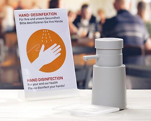 Desinfektionsspender mit Sensor - elektrisch von kela: Aurie comfort