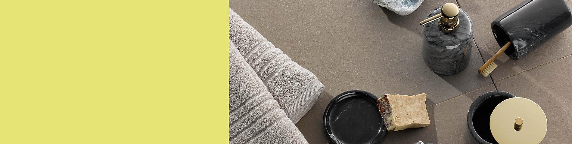 Luxuriös anmutende Badserie Liron von Kela