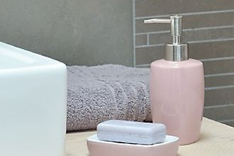 Pastell im Badezimmer