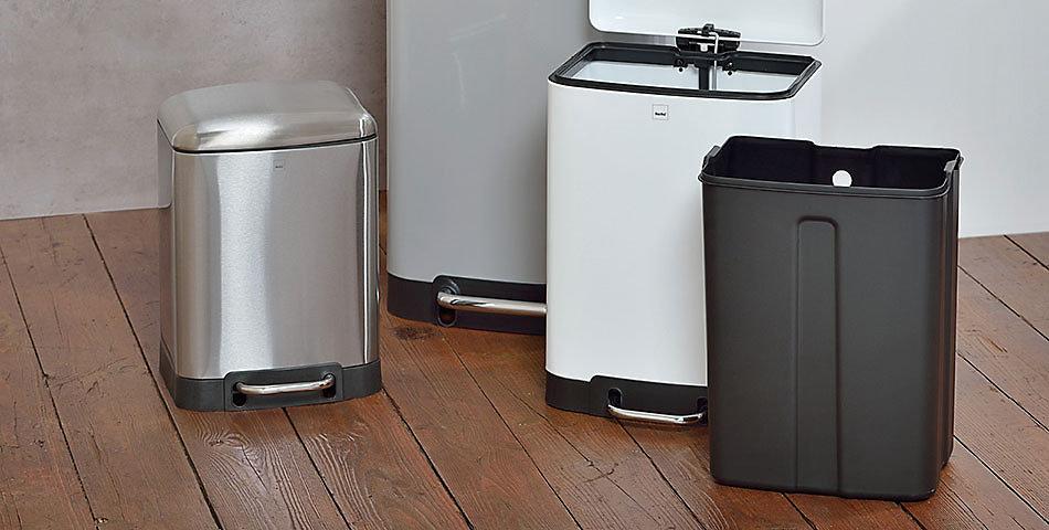 Mülleimer Badezimmer | große Auswahl aus verschiedenen Farben – immer im Trend mit kela