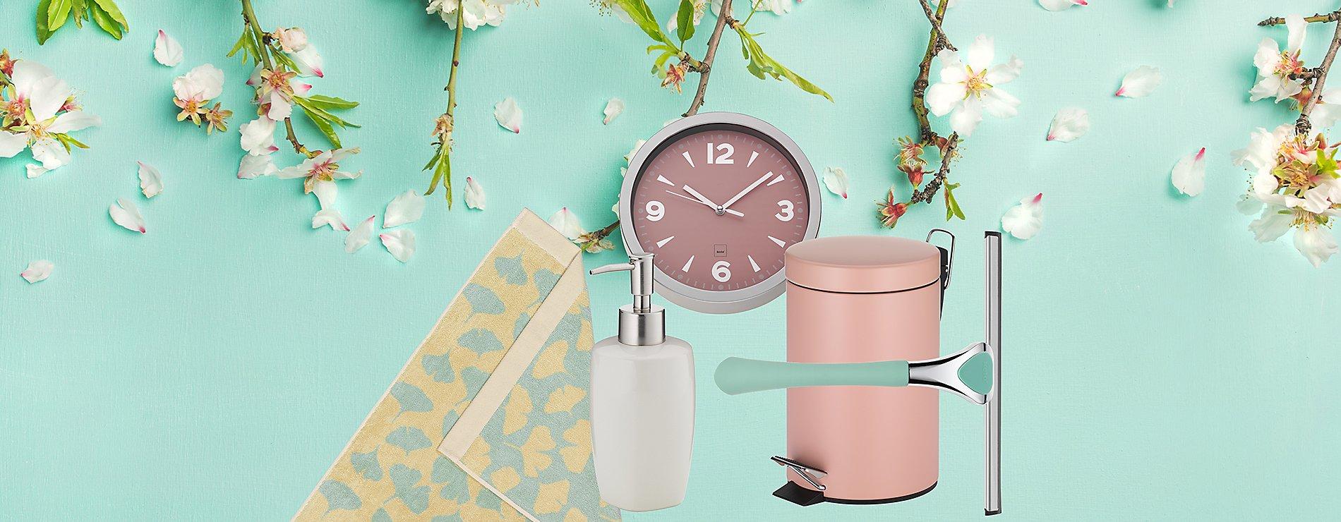 Inspirationen Handtücher Seifenspender Pastell