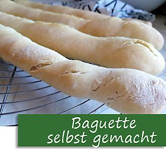 Rezeptbutton Baguette