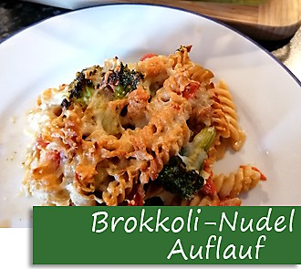 Rezeptbutton Brokkoli-Nudel-Auflauf