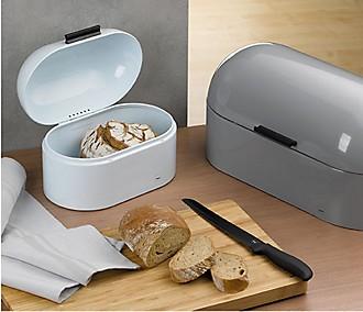Turquoise bread box