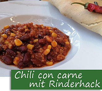 Rezeptbutton Chili con carne