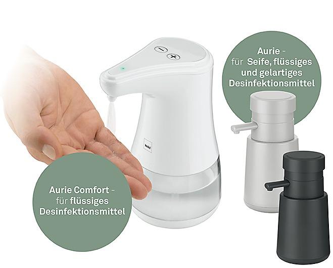 Seifenspender fuer Desinfektionsmittel