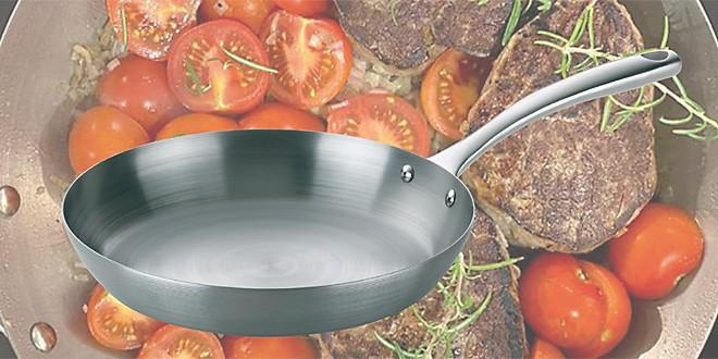 Teaser Eisenpfanne einbrennen Kochevent digital