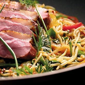 Genussküche - Ente auf Gemüse mit Mie-Nudeln