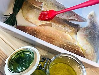 Fisch marinieren Rezept Fisch-Toasti