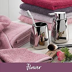 flower Handtuecher