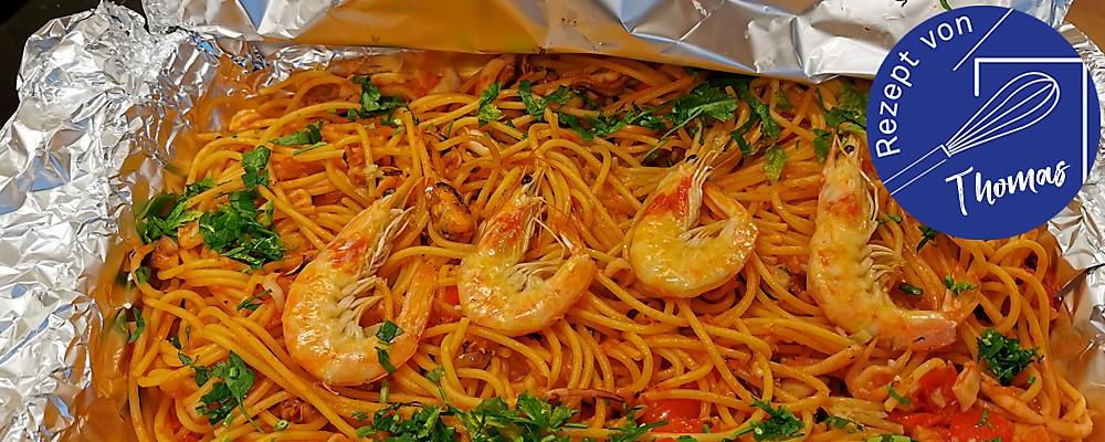 Spaghetti Frutti di Mare Header