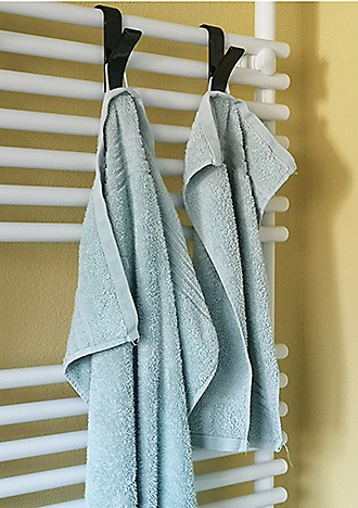 Handtücher im Bad