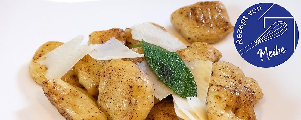 Gnocchi mit Salbei-Buttersoße Headerbild
