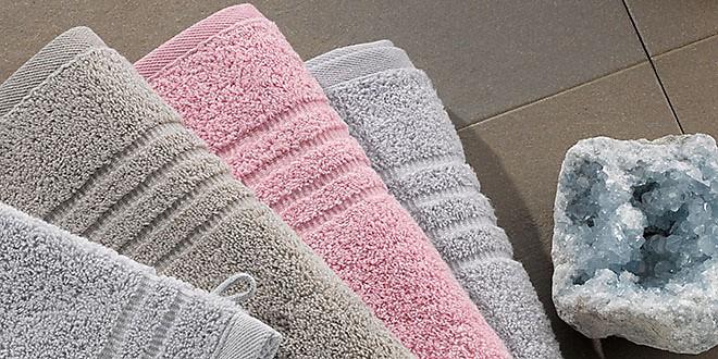 Handtücher pastell rosa