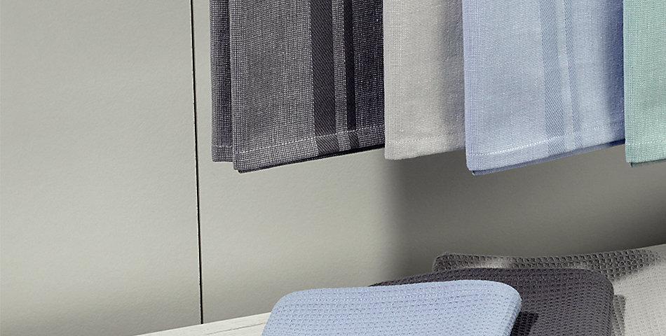 Küchentextilien | aus 100% Baumwolle – große Auswahl an Farben und Designs: Topfhandschuhe, Geschirrtücher, Topflappen u.v.m.