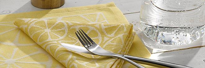 Zitronen Tischset