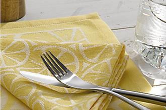 Zitronen Textilien Küche