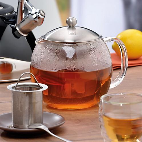 Kaffee und Tee: bauchige Teekanne Cylon von kela