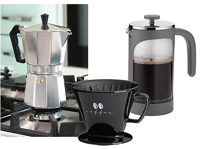 Kaffee Zubereiten Filter Pressystem
