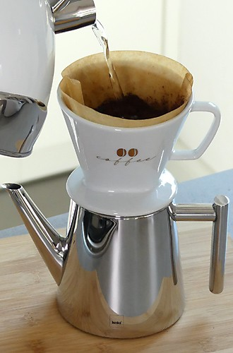 Kaffeezubereitungsarten Handfilter kela Excelsa