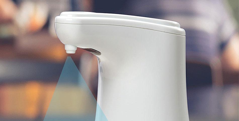 Desinfektionsspender | manuell oder automatisch; Tolle Desinfektionsmittelspender für das Büro oder Zuhause.