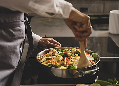 Kochen und Braten Einstiegsbild Flavoria Servierpfanne kela
