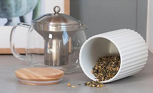 Serie Maila, Vorratsdosen für Tee oder Kaffee