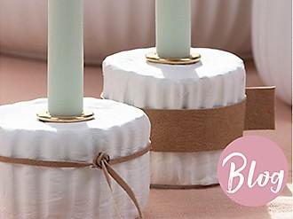 Maila Kerzenständer selber machen Blogbeitrag