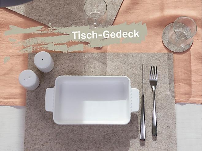 Serie Maila Tischgedeck für Gäste