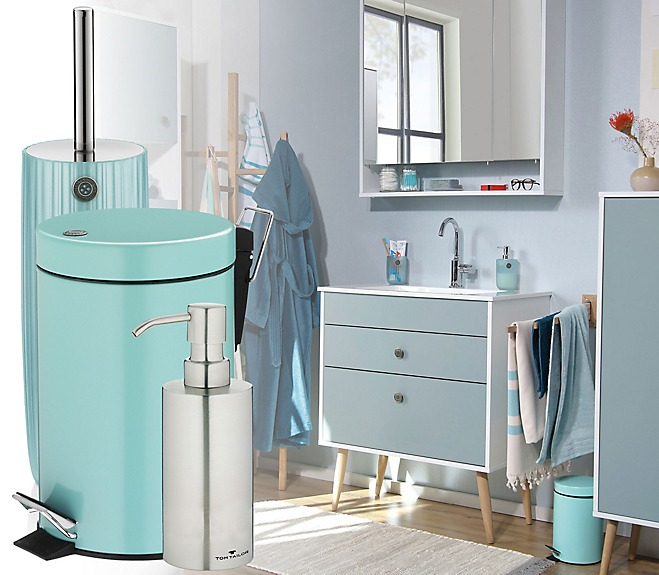 Turquoise bathroom series