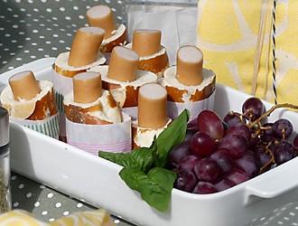 Picknick Rezept Schnelle Hot Dogs