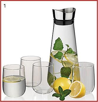 Wasserkaraffe mit Glaeser