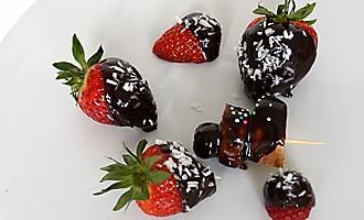 Schokolierte Früchte