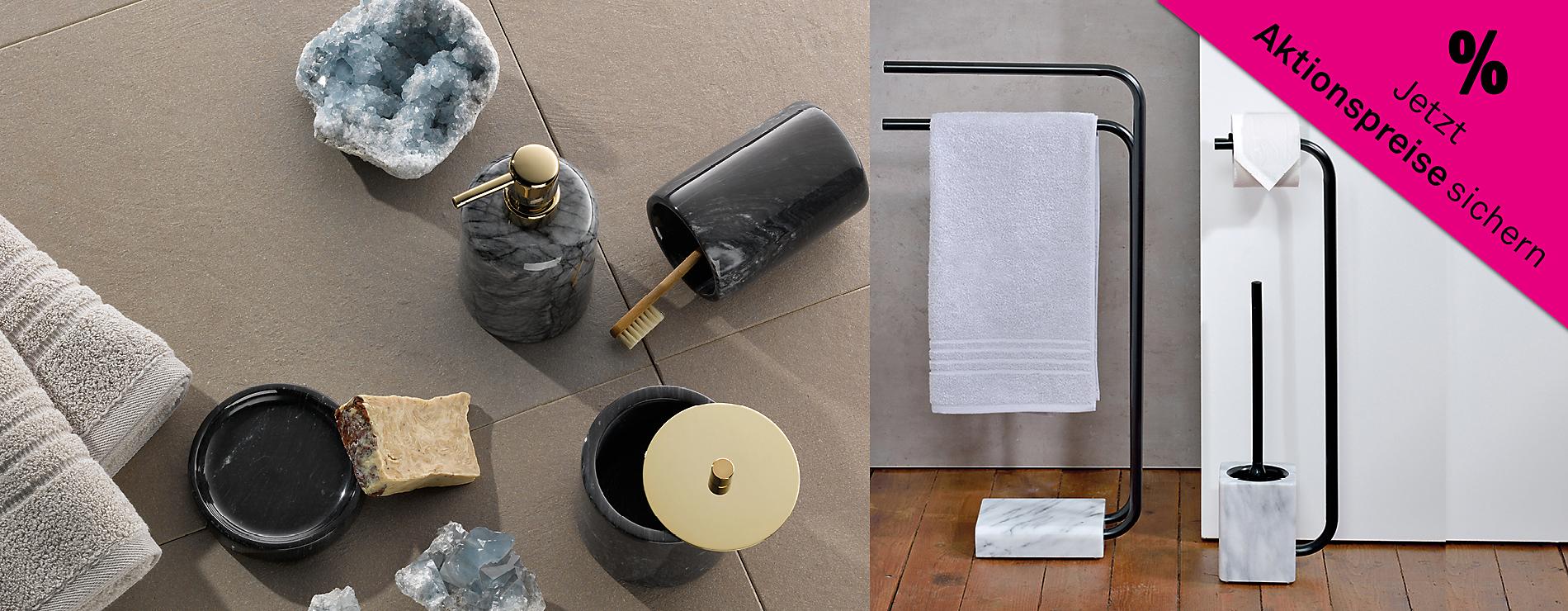 Hochwertige Bad-Accessoires von Kela