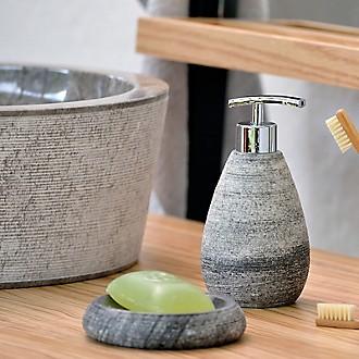 Kela Badprodukte Seifenspender Marmor