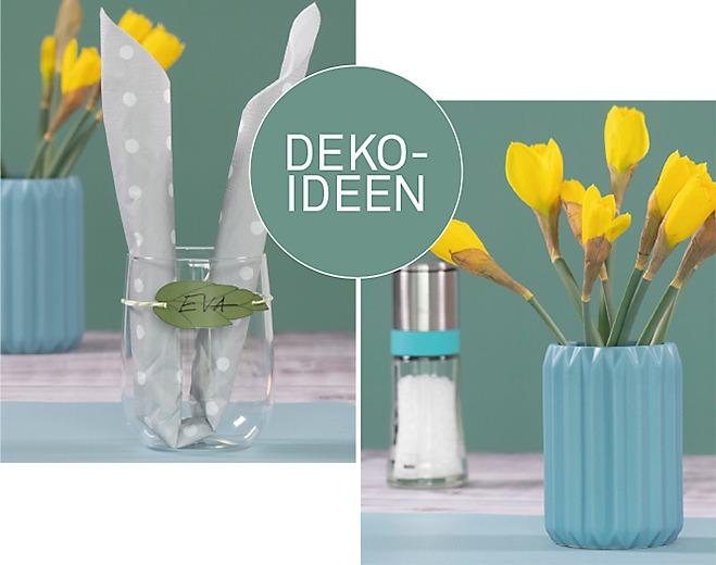 Deko Ideen Vase Glas