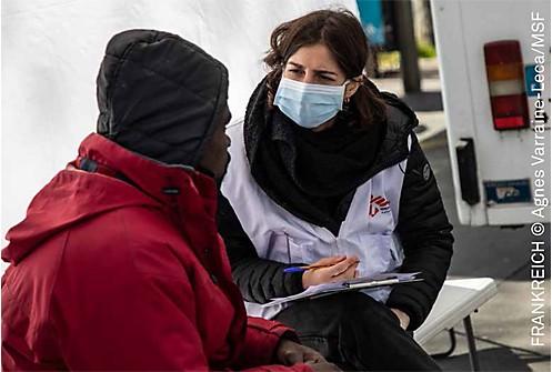 Spendenaktion mit Ärzte ohne Grenzen