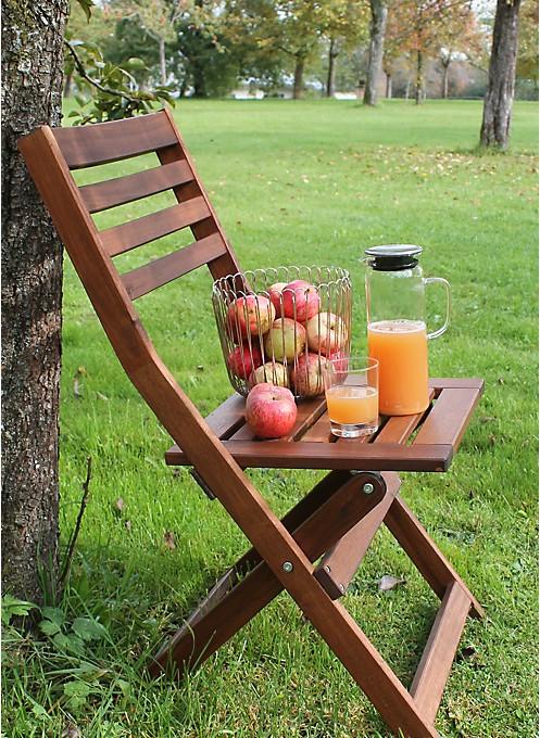 Rastplatz Apfelernte