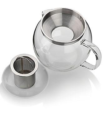 Teekanne mit Sieb Einsatz