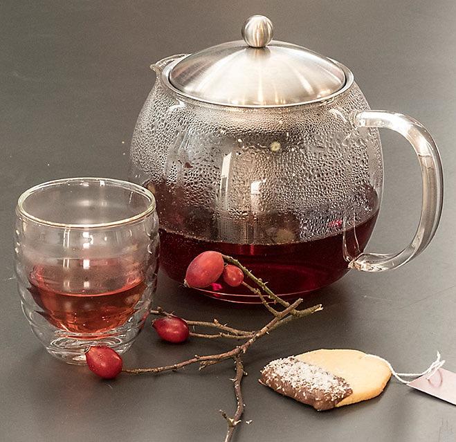 Teekanne Doppelwandiges Glas