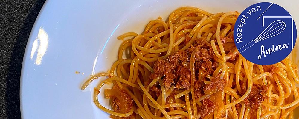 Thunfisch-Spaghetti Header