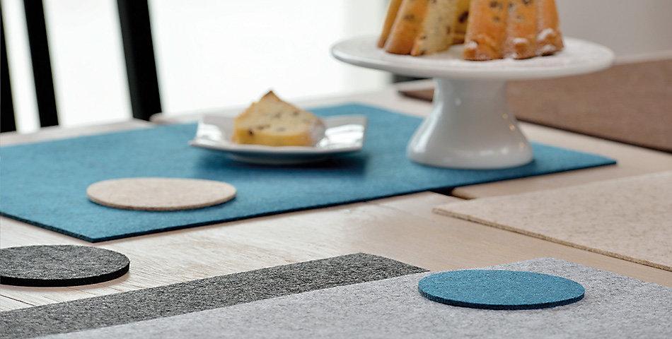Tischsets | Schöne Farben, verschiedene Modelle und Größen für Ihren gedeckten Tisch