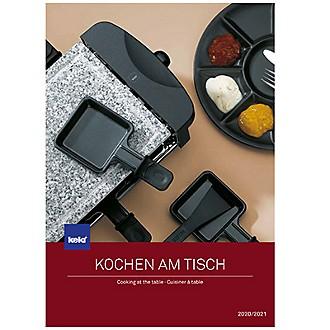 Kela Katalog Kochen am Tisch