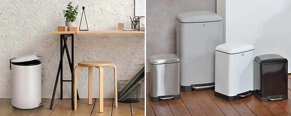 Treteimer Küche und Büro: Mats und Davino in 5, 6, 12 und 30 Liter